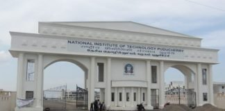 Faculty Position - On Contract 2019 NIT Puducherry, India