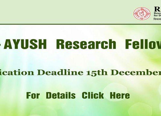 FITM-AYUSH Fellowships position