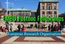 EMBO Long-Term Fellowships by European Research Organisation