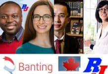 Banting Postdoctoral Fellowships 2019 in Canada, Canadian Institutes