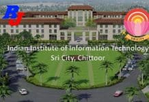 Faculty Position 2019 in IIIT, Sri City, Chittoor, Andhra Pradesh, India