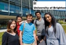 International research scholarships 2019 in University of Brighton, England