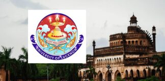 Faculty Jobs in India - University of Lucknow, up, India, Total Post ≃ 170