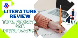 How to write a literature review Tips, Format, and Significance