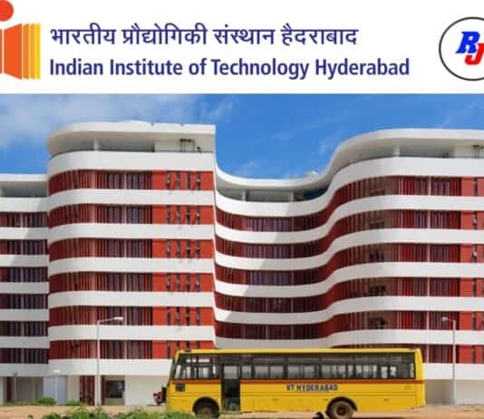 Research Associate Position at IITH, Hyderabad, India