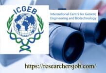 Senior Information Scientist Position BTIC Project at ICGEB, New Delhi, India